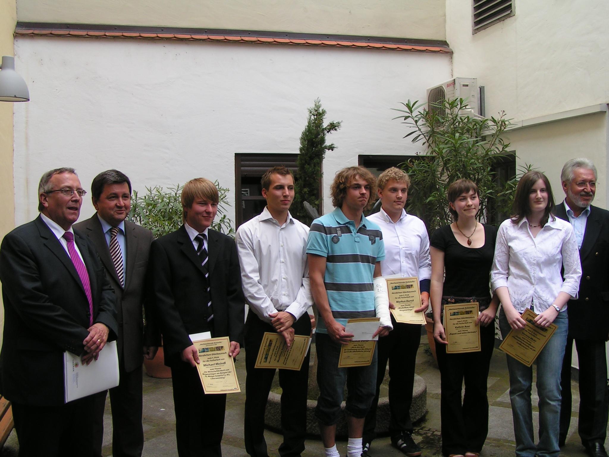 Gymnasialpreis 2008